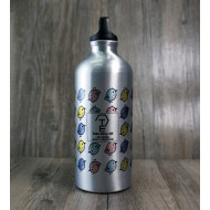 White Sports Water Bottle (L) / 銀色運動水樽 (大) TE1421