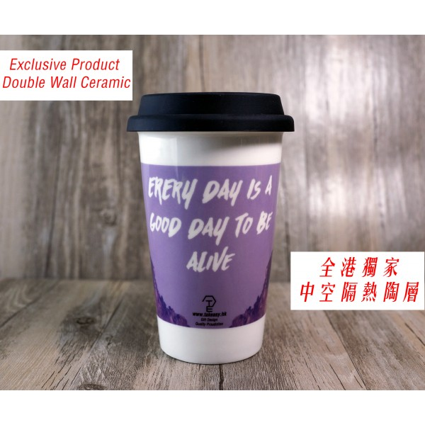 Double Wall Ceramic Cup / 雙層陶瓷咖啡杯 TE1422