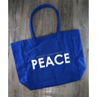 Peace Love World Tote Bags 2  / 大容量購物袋 2