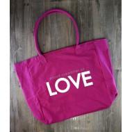 Peace Love World Tote Bags 4  / 大容量購物袋 4