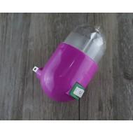 Cystal light Nightlight projection socket / 創意水晶光控小夜燈投影插座