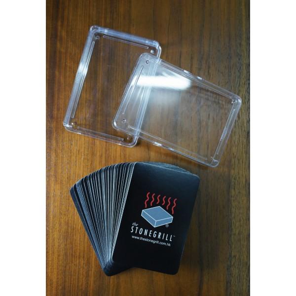 Normal 4C printing + PVC Box / 常色4色印刷紙啤牌 + 膠盒