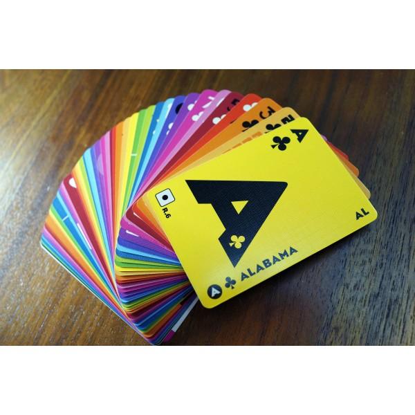 Normal 4C printing+ embossing Play Card / 常色4色印刷紙+ 壓紋紙啤牌