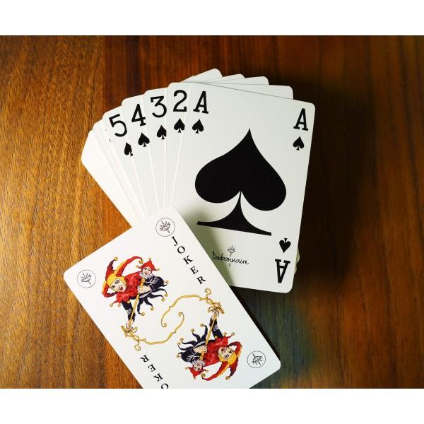 SEB 4C Printing +Bronzing Edge Play Card / SEB 常色4色印刷+ 熨金邊啤牌
